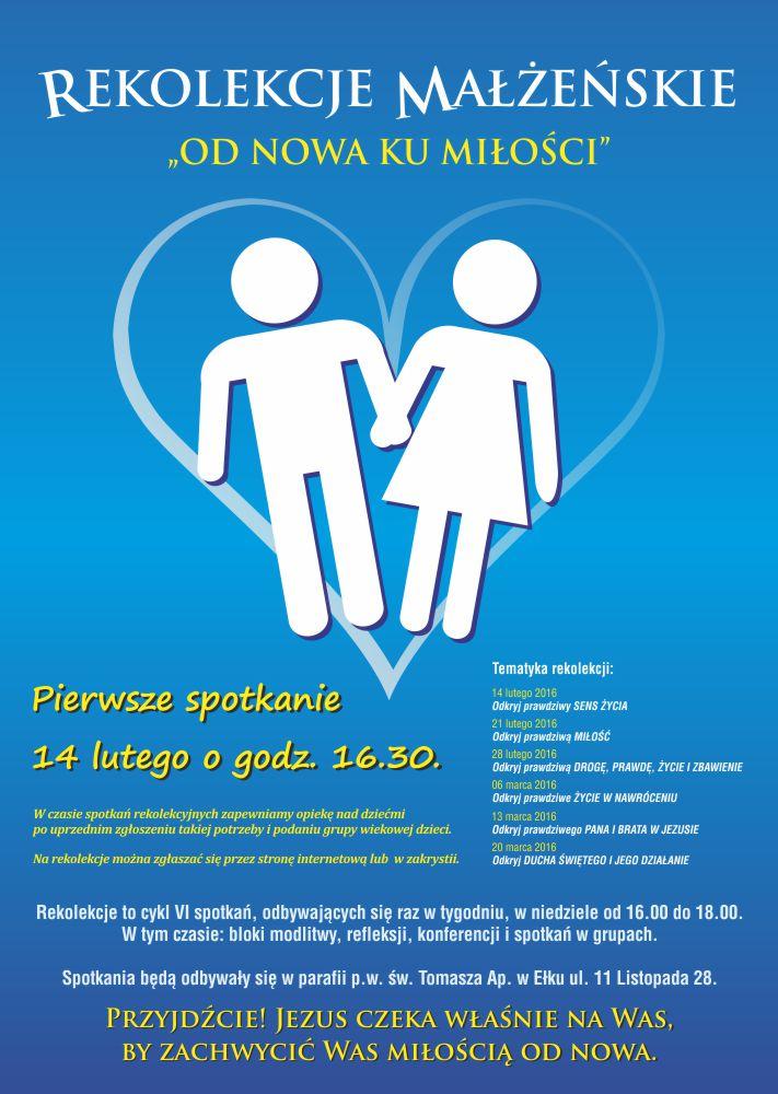 Plakat_A3_Rekolekcje_Małżeńskie